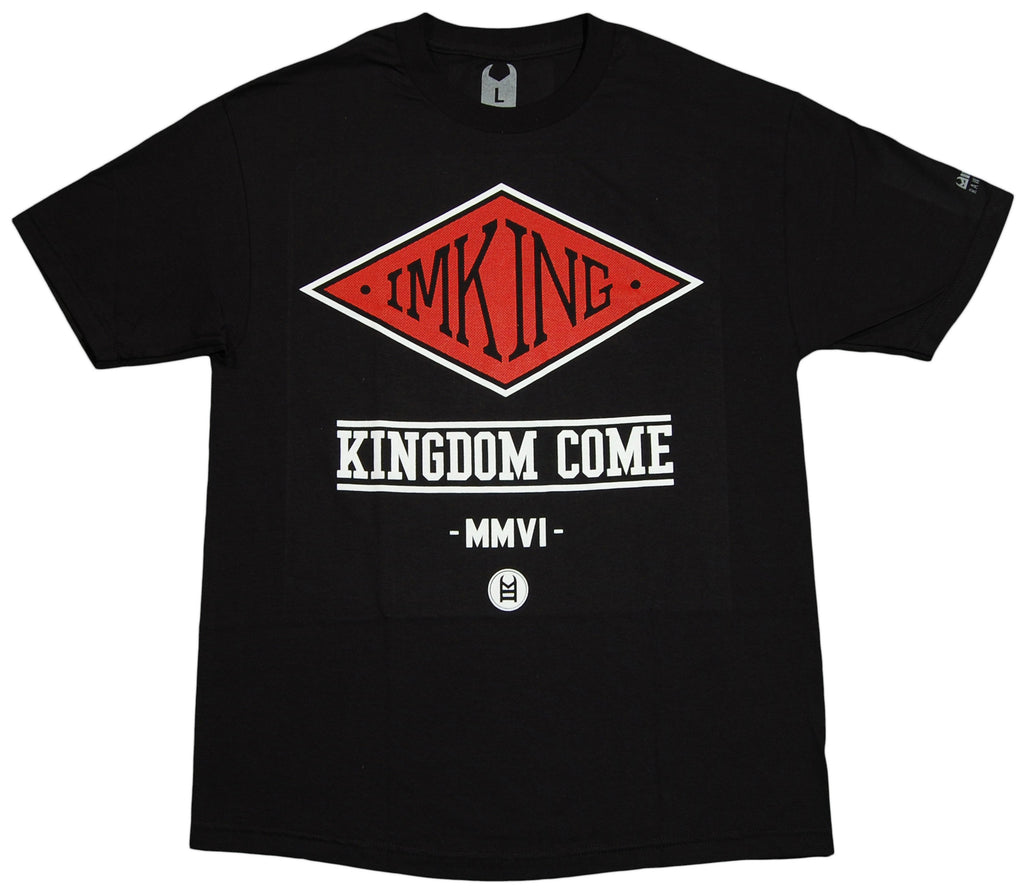 <!--2012051524-->IM King - 'World Tour' [(Black) T-Shirt]