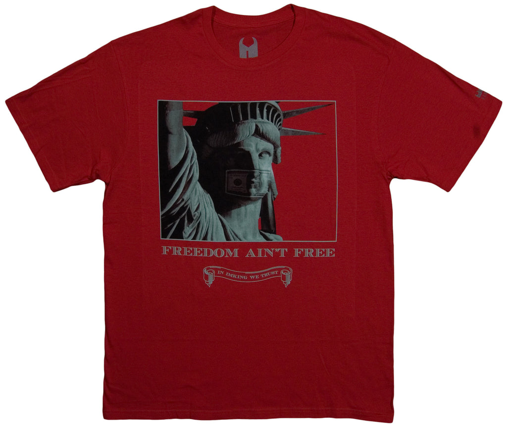 <!--2013102955-->IM King - 'Freedom Ain't Free' [(Red) T-Shirt]