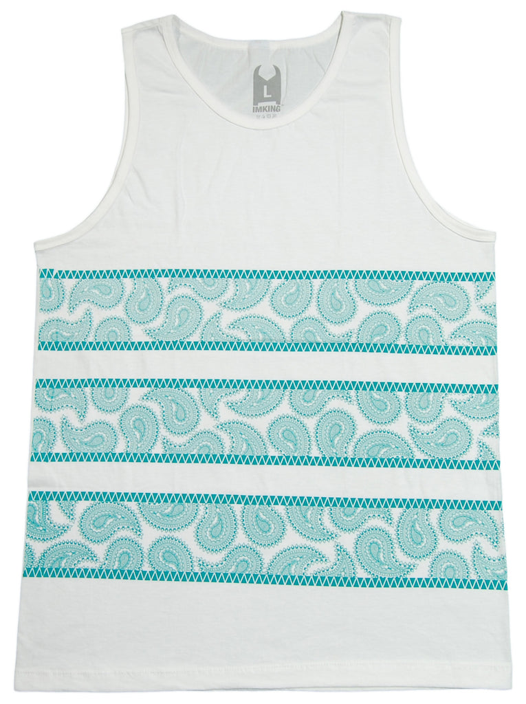 <!--2013031934-->IM King - 'Creesly' [(White) Tank Top]