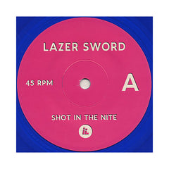 "<!--020100413020924-->Lazer Sword - 'Shot In The Nite/ Koopa Boss Mode' [(Blue) 7"" Vinyl Single]"