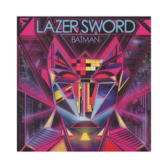 "Lazer Sword - 'Batman/ Batman (Remixes)/ I'm Gone/ I'm Gone (Remixes)' [(Black) 12"" Vinyl Single]"