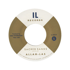 "Allah-Las - 'Tell Me (What's On Your Mind)/ Sacred Sands' [(Black) 7"" Vinyl Single]"