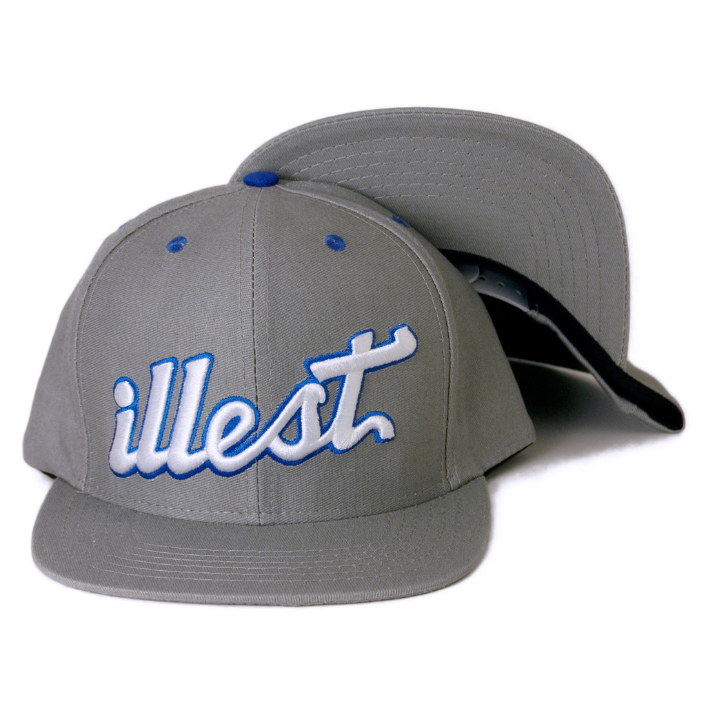 <!--2014040801-->illest - 'Team' [(Gray) Snap Back Hat]