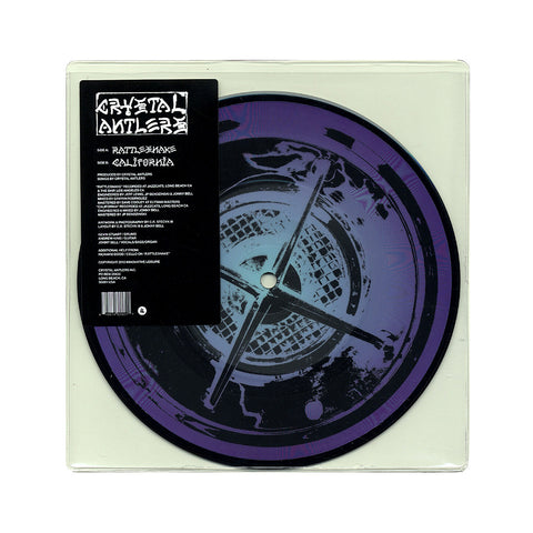 "[""Crystal Antlers - 'Rattlesnake/ California' [(Picture Disc) 7\"" Vinyl Single]""]"