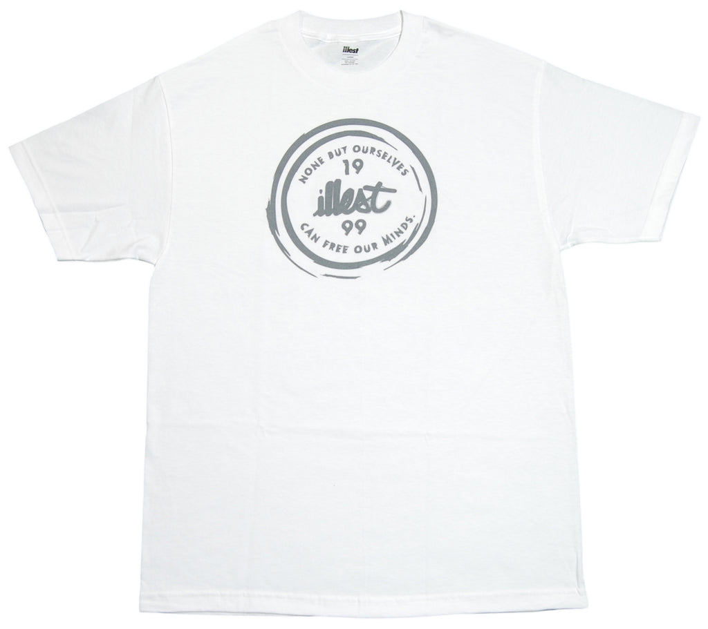 <!--2012050132-->illest - 'Bottoms Up' [(White) T-Shirt]