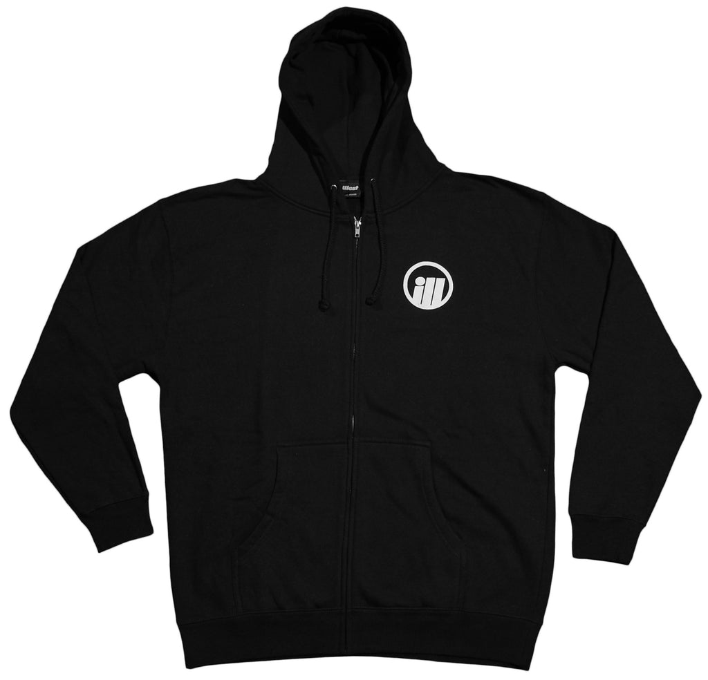 <!--2012050131-->illest - 'Bold' [(Black) Hooded Sweatshirt]