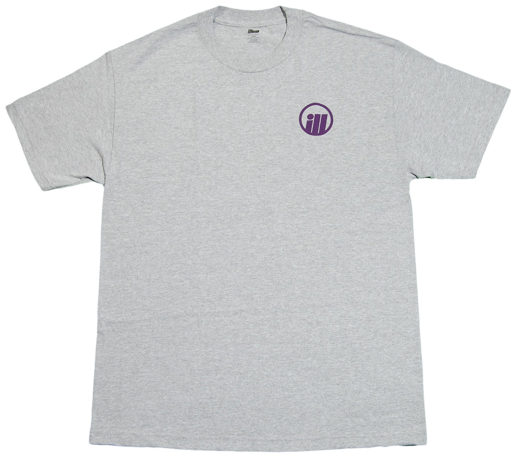 <!--2012071744-->illest - 'New Bold' [(Gray) T-Shirt]