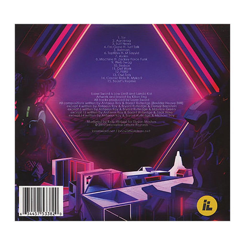 <!--120101102023741-->Lazer Sword - 'Lazer Sword' [CD]