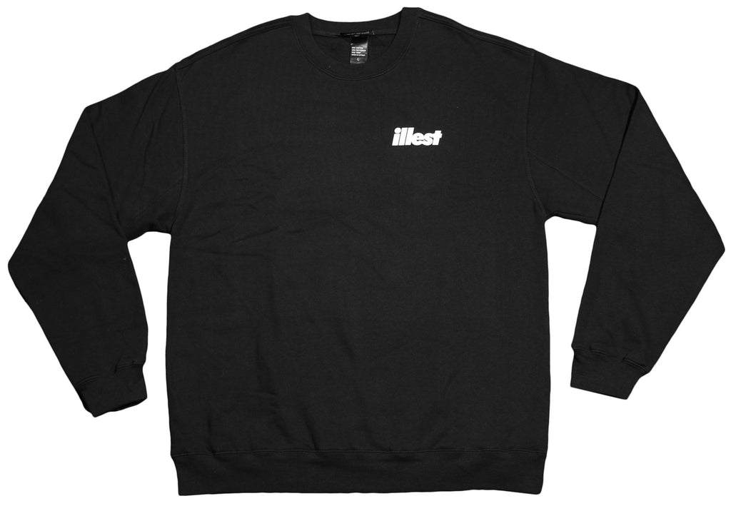 <!--2012071757-->illest - 'Mini Bold' [(Black) Crewneck Sweatshirt]