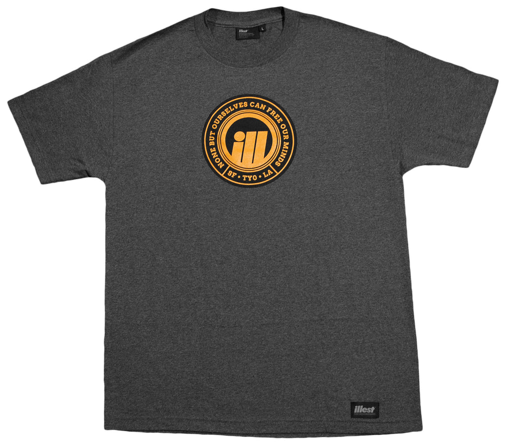 <!--2012101645-->illest - 'Hometown' [(Dark Gray) T-Shirt]