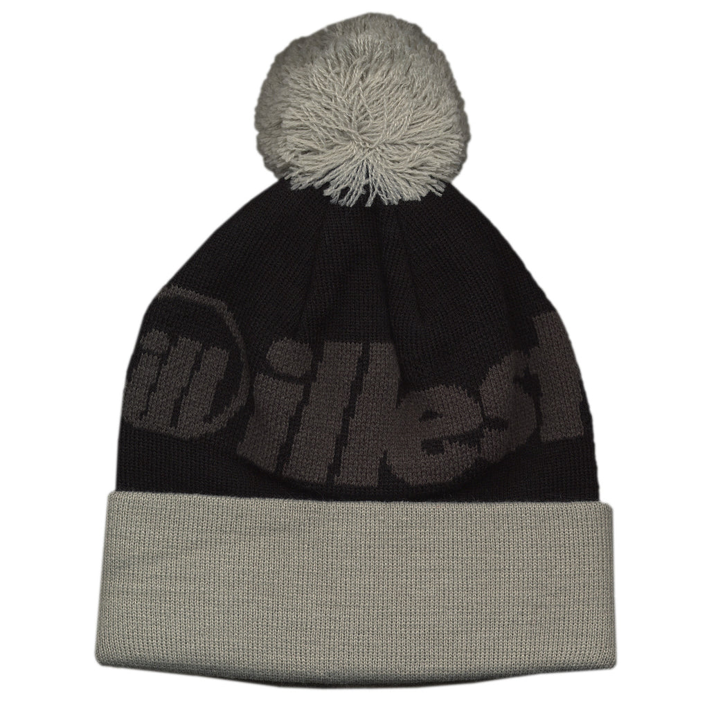 <!--020121016050422-->illest - 'Bold Pom - Black/ Gray' [(Black) Winter Beanie Hat]