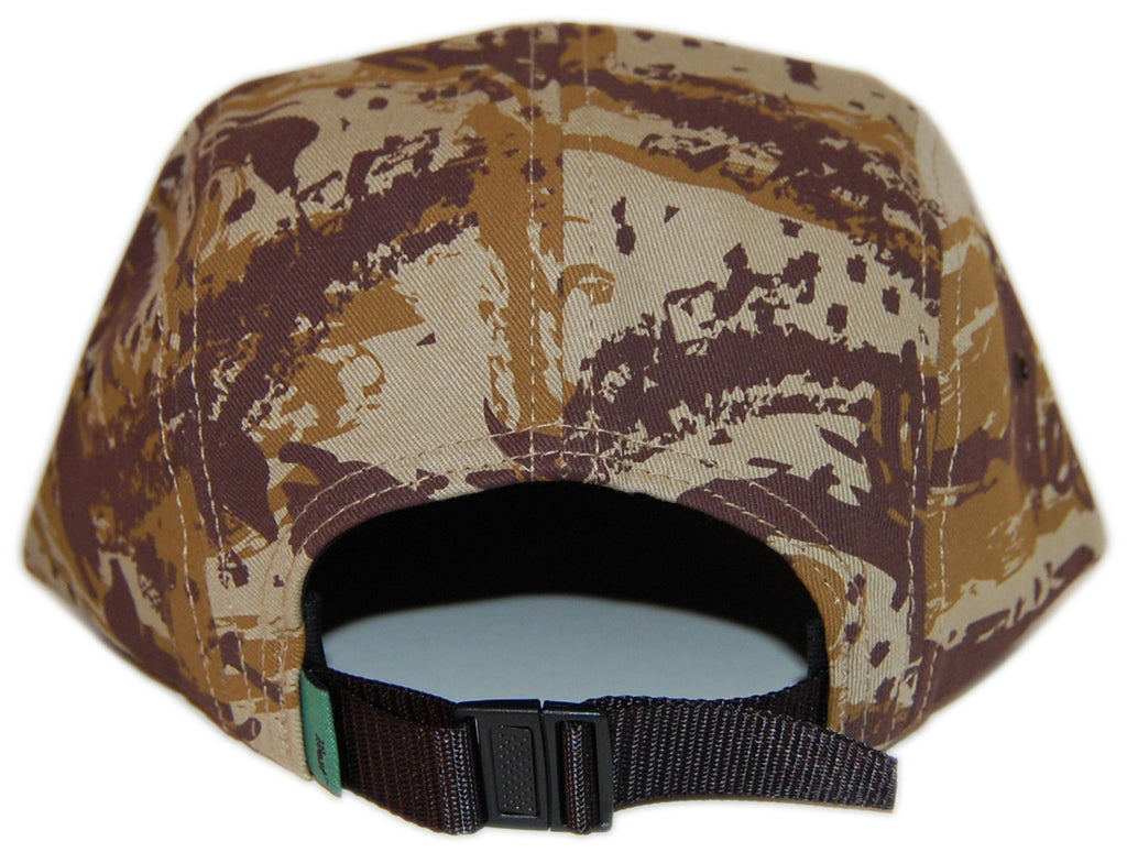 <!--020121218052811-->illest - 'I Camo' [(Brown) Five Panel Camper Hat]