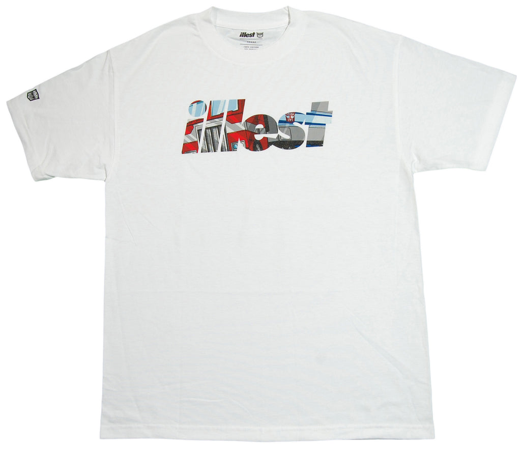 <!--2012121840-->illest x Transformers - 'Bold Roll Out' [(White) T-Shirt]