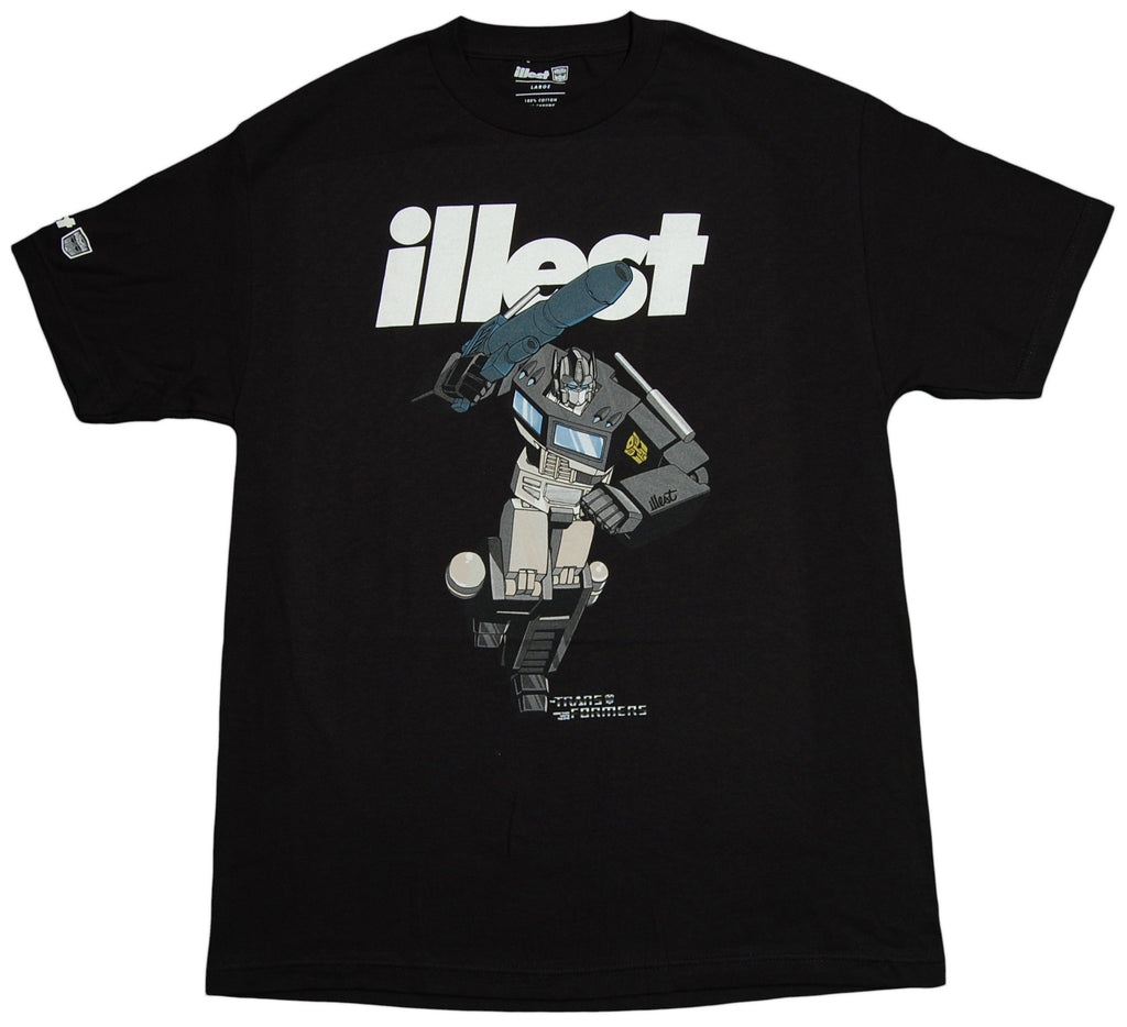 <!--2012121820-->illest x Transformers - 'Optimus Prime' [(Black) T-Shirt]