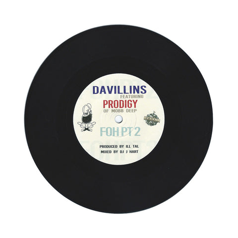 "DaVillins - 'FOH Part 2' [(Black) 7"" Vinyl Single]"