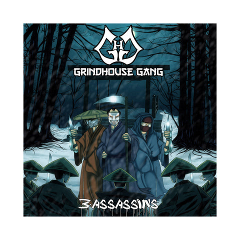 Grindhouse Gang - '3 Assassins' [CD]