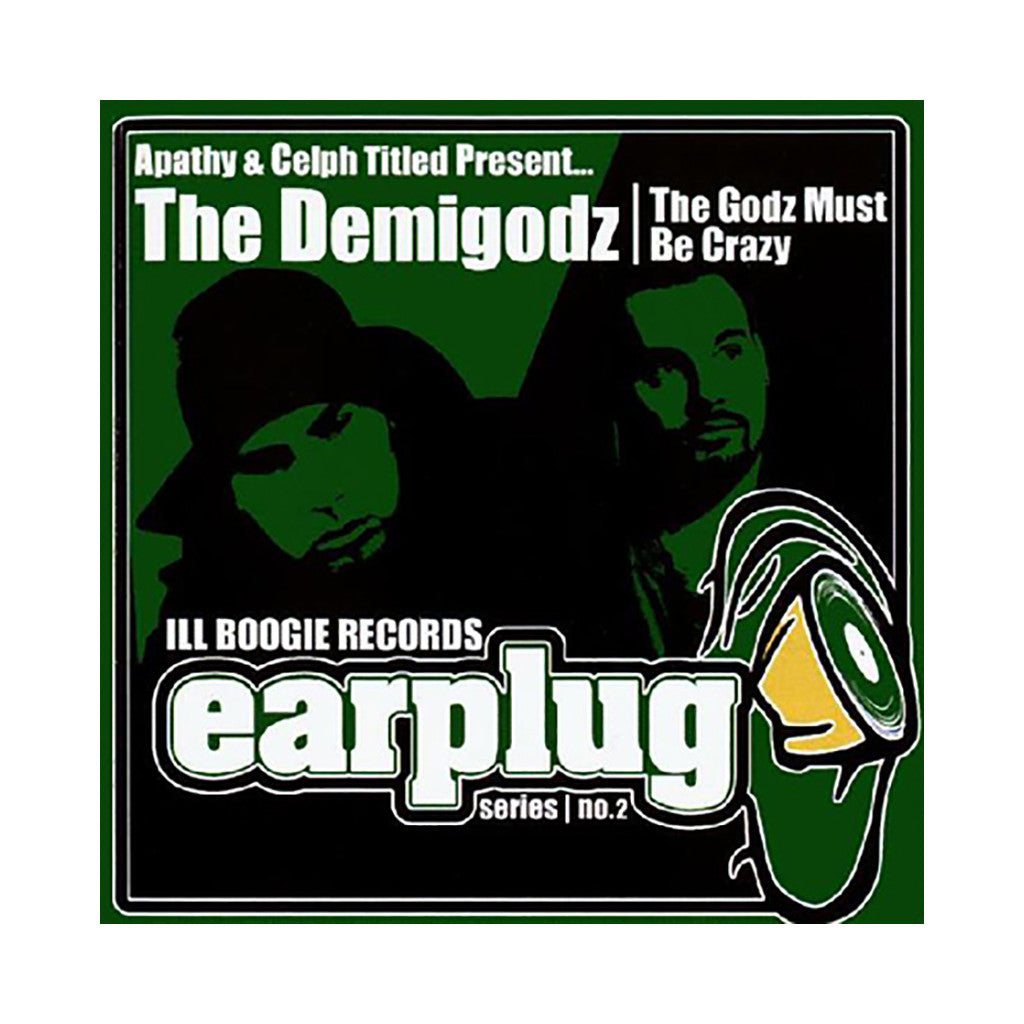 Demigodz (Apathy & Celph Titled Present) - 'The Godz Must Be Crazy' [CD]