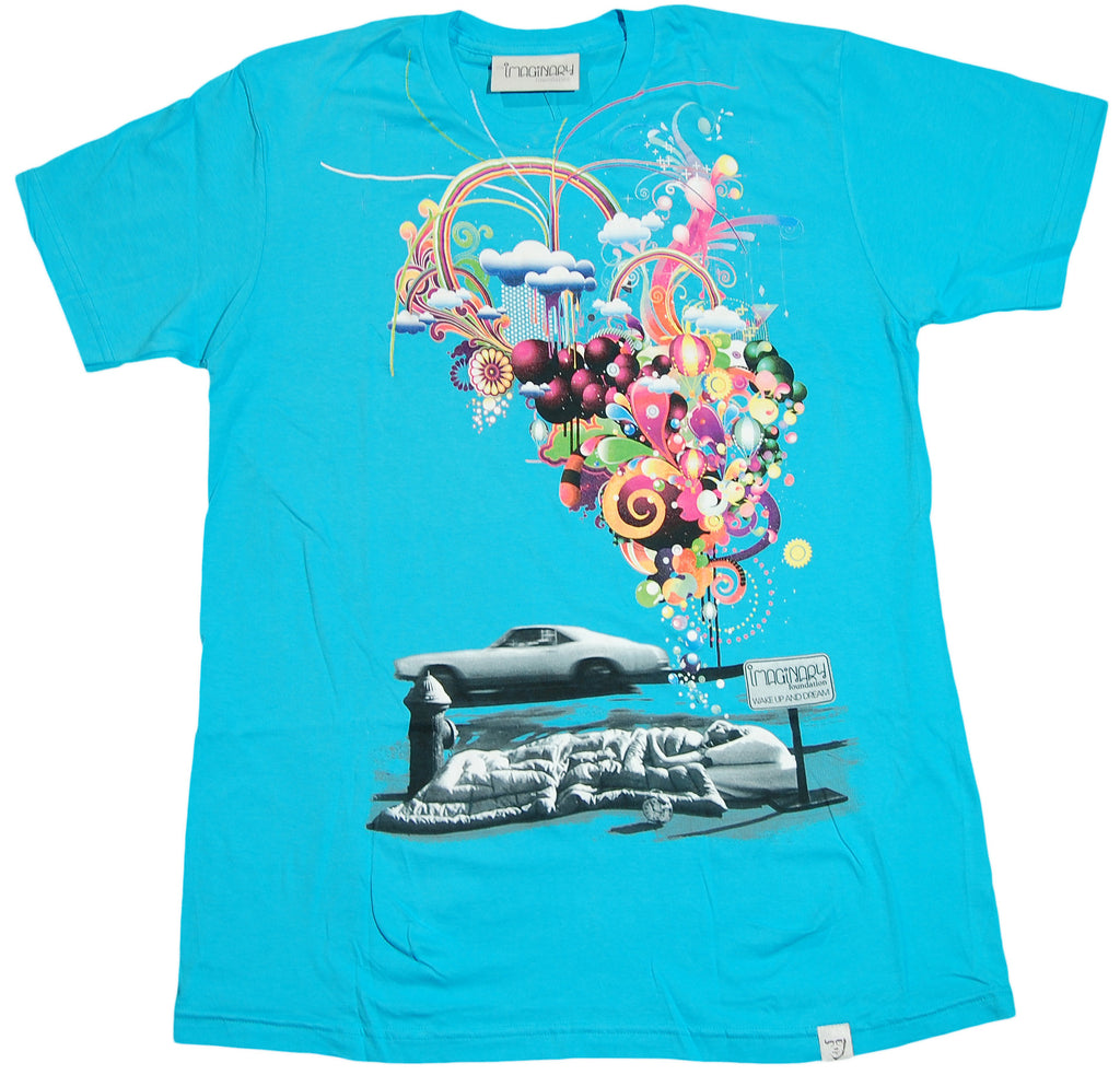<!--2011041905-->Imaginary Foundation - 'Wake Up And Dream' [(Light Blue) T-Shirt]