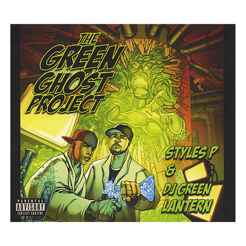 Styles P & DJ Green Lantern - 'The Green Ghost Project' [CD]