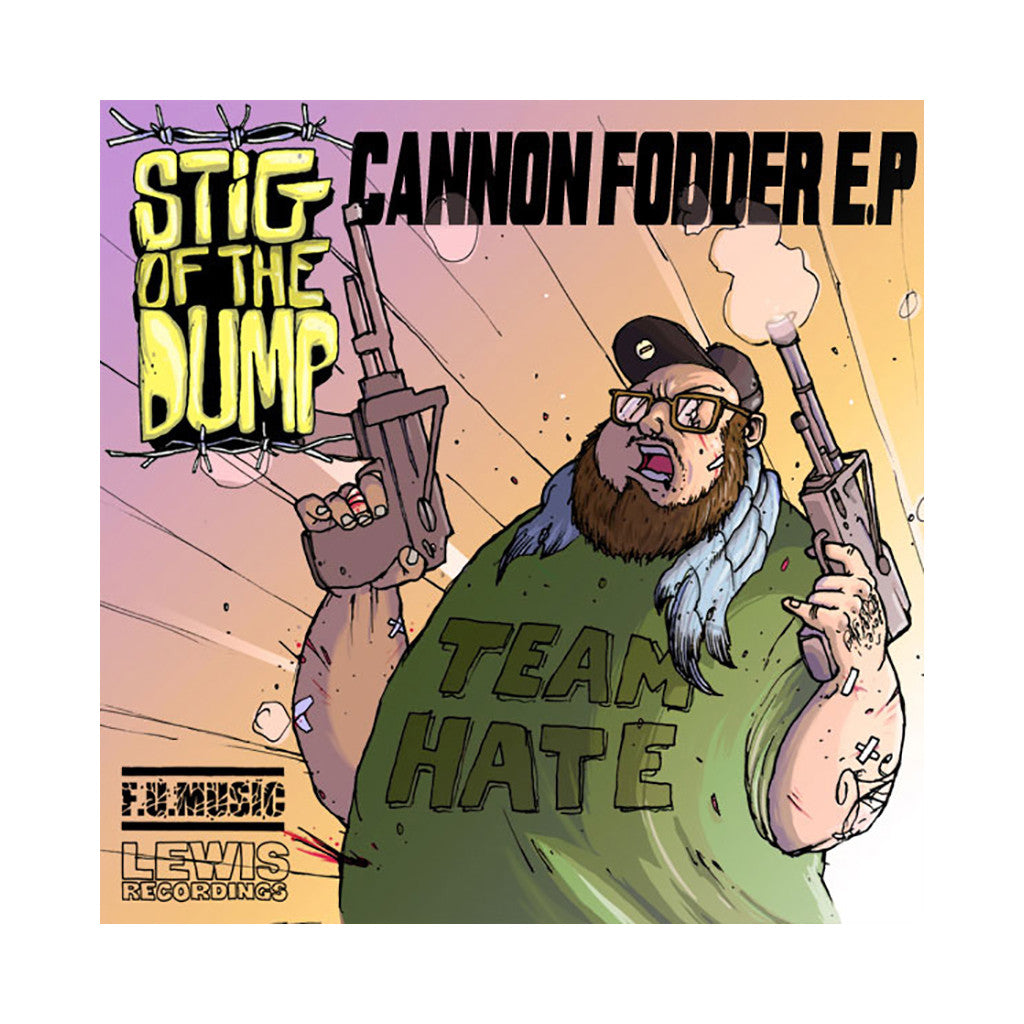 <!--020130129001032-->Stig Of The Dump - 'Cannon Fodder EP' [CD]