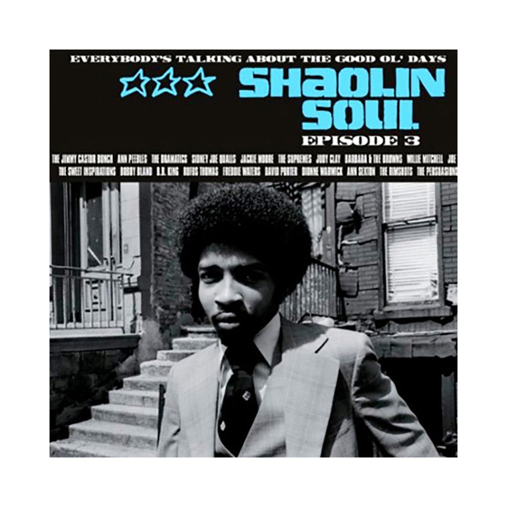 Various Artists - 'Shaolin Soul: Episode 3' [(Black) Vinyl [2LP]]
