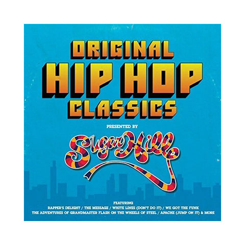 "[""Various Artists - 'Original Hip Hop Classics Presented By Sugar Hill Records' [(Black) Vinyl LP]""]"
