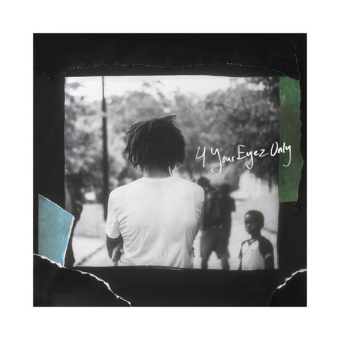J. Cole - '4 Your Eyez Only' [(Black) Vinyl LP]