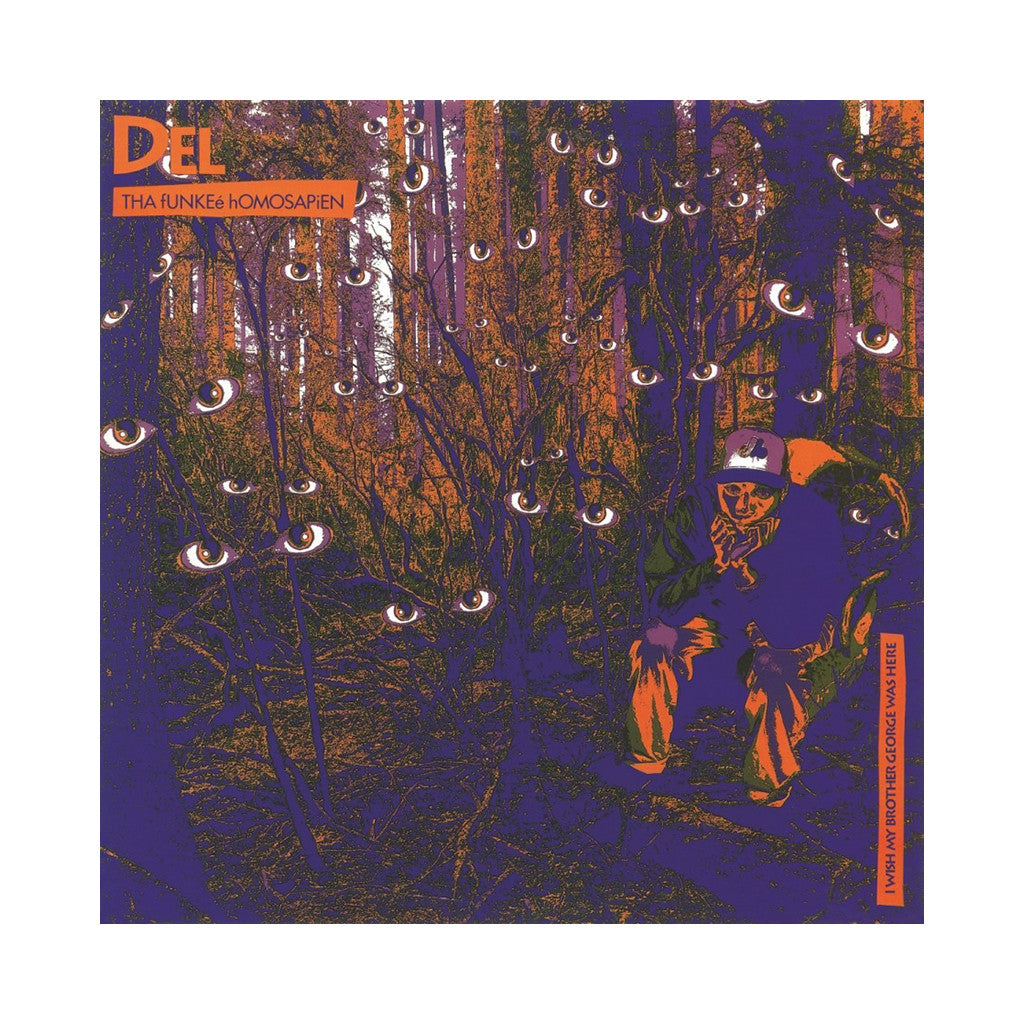 Del The Funky Homosapien - 'I Wish My Brother George Was Here (Import)' [(Black) Vinyl LP]