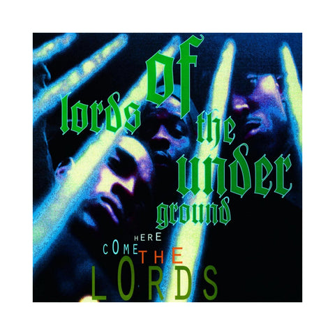 "[""Lords Of The Underground - 'Here Come The Lords (25th Anniversary Edition)' [(Green) Vinyl [2LP]]""]"