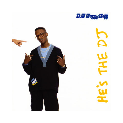 "[""DJ Jazzy Jeff & The Fresh Prince - 'He's The DJ, I'm The Rapper' [(Black) Vinyl [2LP]]""]"