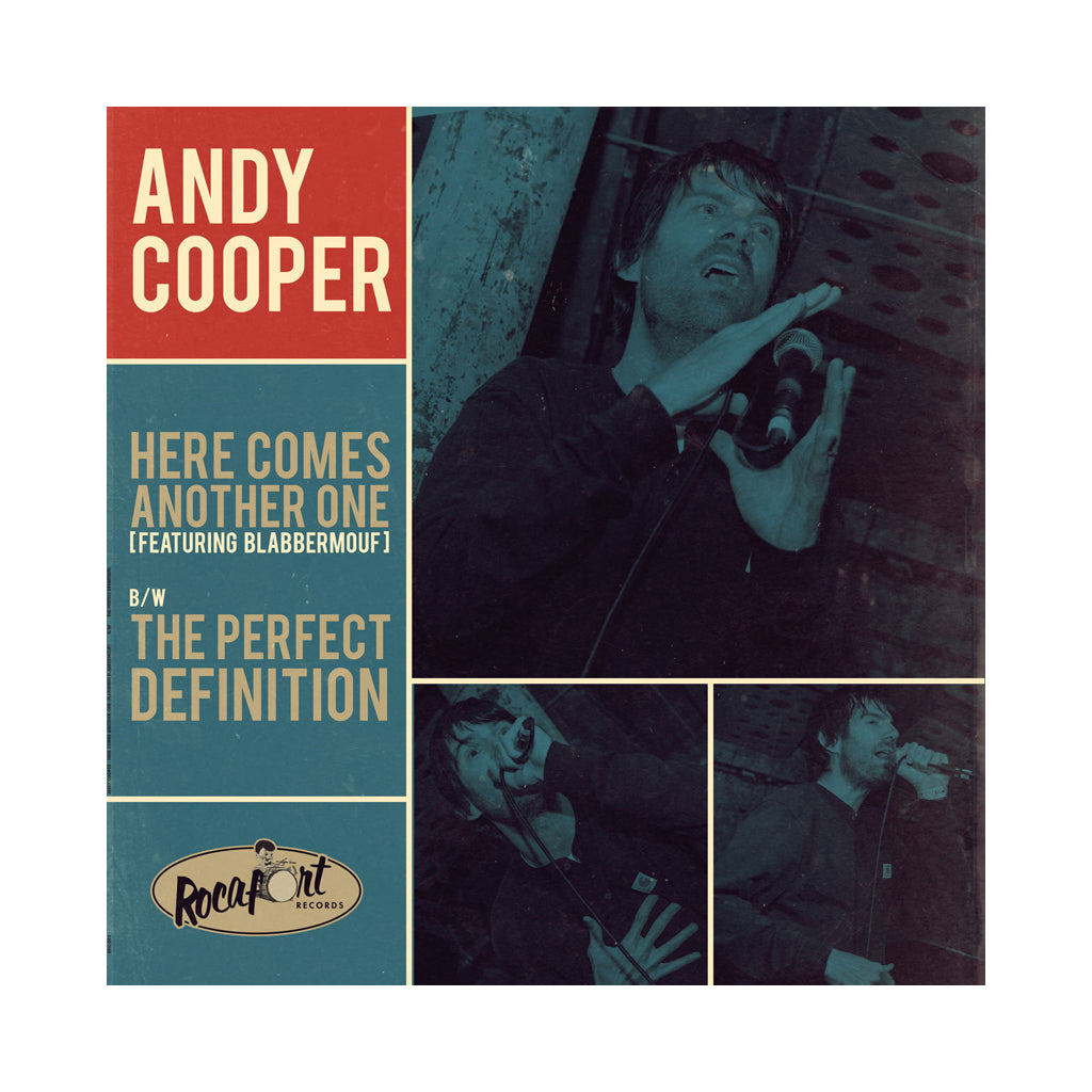 "Andy Cooper - 'Here Comes Another One/ The Perfect Definition' [(Black) 12"" Vinyl Single]"