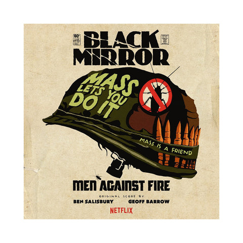 "[""Geoff Barrow & Ben Salisbury - 'Black Mirror: Men Against Fire (Original Score)' [CD]""]"