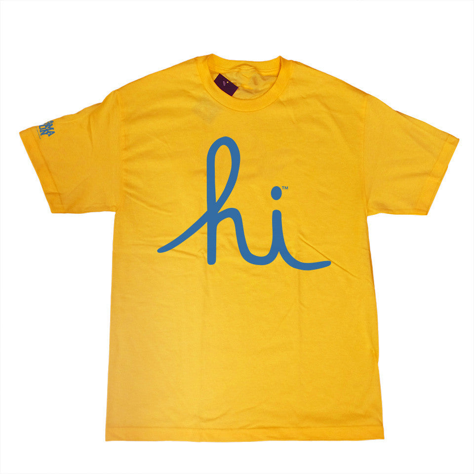 <!--2014081428-->In4mation - 'Hi' [(Yellow) T-Shirt]