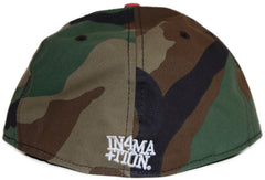 <!--2011092748-->In4mation - 'Aya - Woodland Camo' [(Camo Pattern) Fitted Hat]