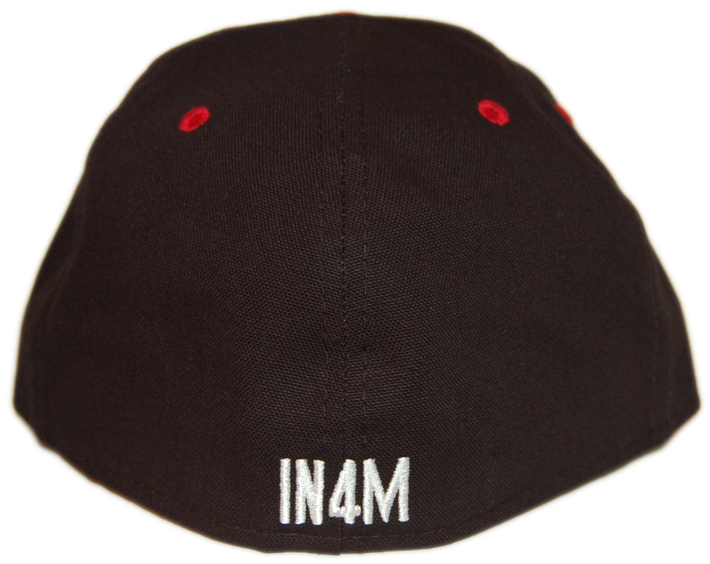 <!--2013010807-->In4mation - 'Hi - Black/ Red' [(Black) Fitted Hat]