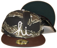 <!--2013010843-->In4mation - 'Hi - Tigerstripe' [(Camo Pattern) Fitted Hat]