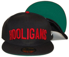 <!--2013010815-->In4mation - 'Hooligans' [(Black) Fitted Hat]