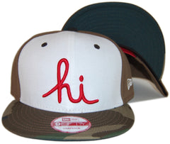 <!--020130521056681-->In4mation - 'Hi - Olive Camo' [(Camo Pattern) Snap Back Hat]