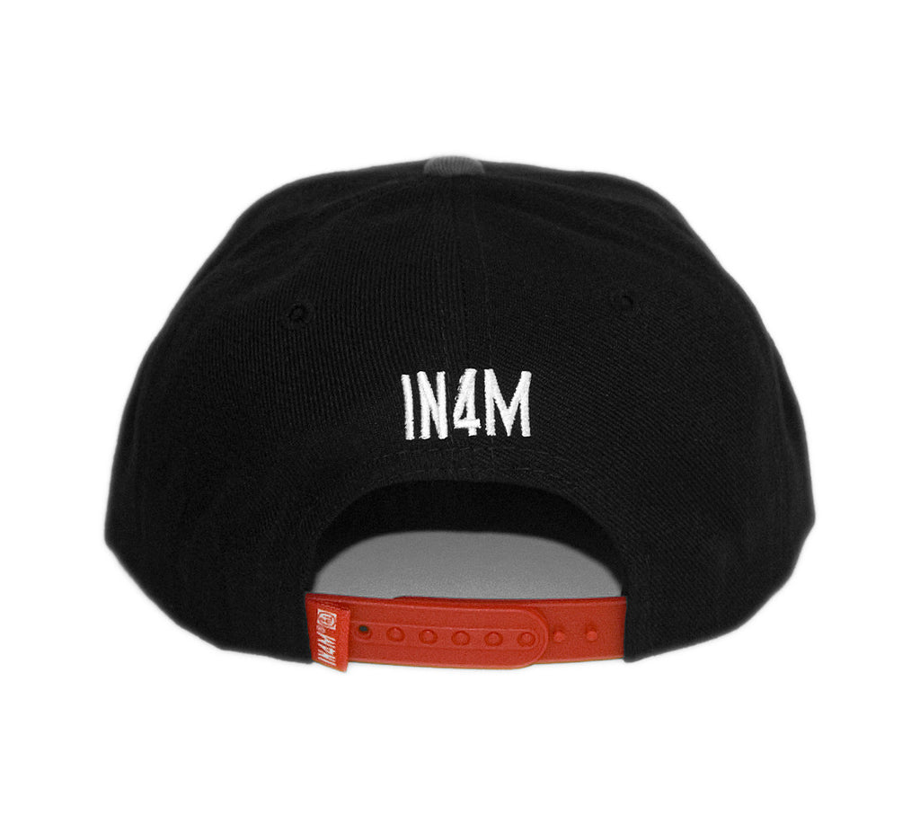 <!--020131022060873-->In4mation - 'IN4M' [(Black) Snap Back Hat]