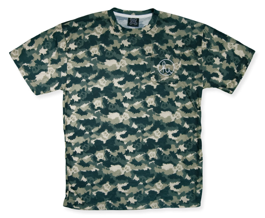 <!--2014031805-->In4mation x Angry Woebots - 'Sublimated Woebot Camo' [(Camo Pattern) T-Shirt]