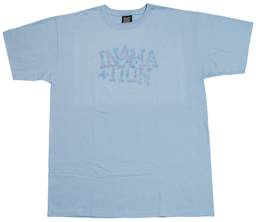 <!--2012061232-->In4mation - 'Custom Paint' [(Light Blue) T-Shirt]