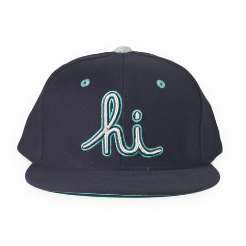 In4mation - 'Hi - Sea' [(Dark Blue) Snap Back Hat]
