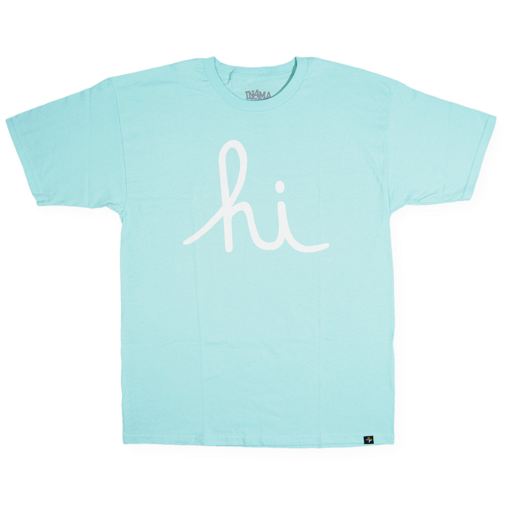 <!--020160805073964-->In4mation - 'Hi Script Celadon' [(Light Green) T-Shirt]