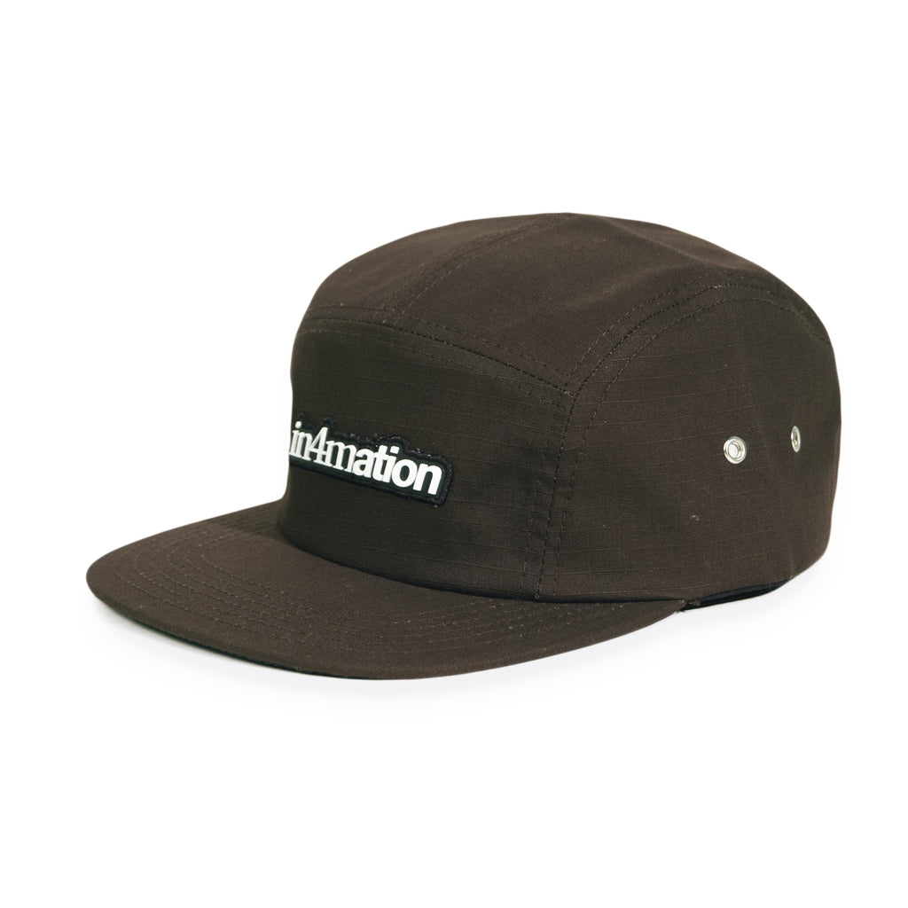 In4mation - 'Standard Camper' [(Brown) Five Panel Camper Hat]