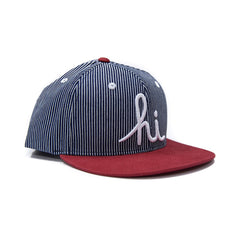 <!--020151211071666-->In4mation - 'Workers Union - Railroad Indogo' [(Dark Blue) Snap Back Hat]