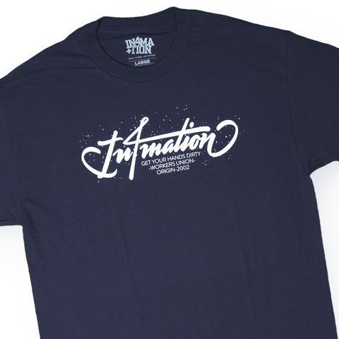 In4mation - 'Workers Union' [(Dark Blue) T-Shirt]