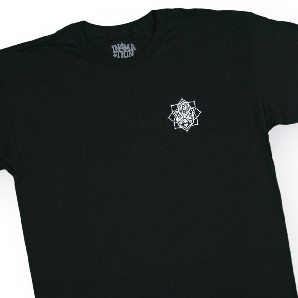 <!--020160907074096-->In4mation - 'Hamsa' [(Black) T-Shirt]