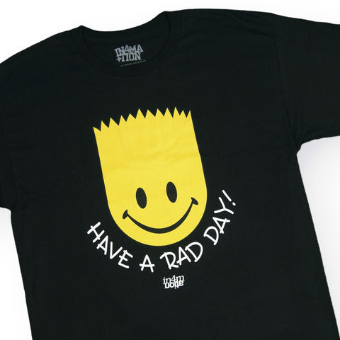 In4mation - 'Have A Rad Day' [(Black) T-Shirt]