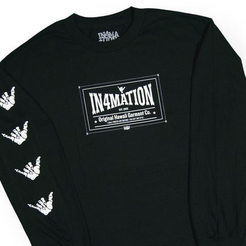 In4mation - 'OHGC' [(Black) Long Sleeve Shirt]