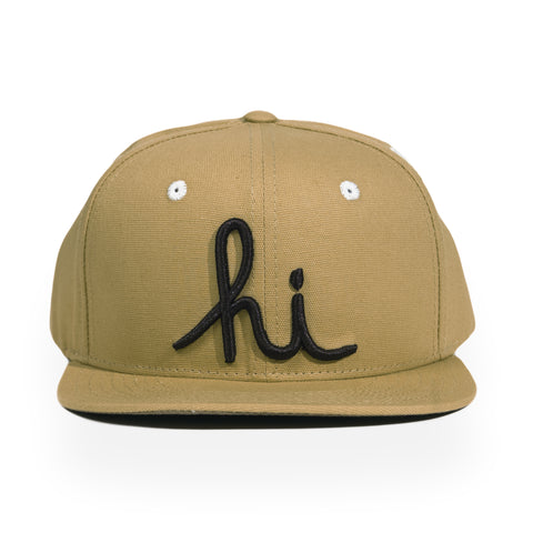 In4mation - 'Hi Diggy' [(Light Brown) Snap Back Hat]